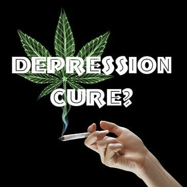 curing depression with marijuana