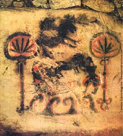 marijuana cave painting