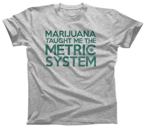 measuring weed