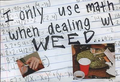 marijuana math