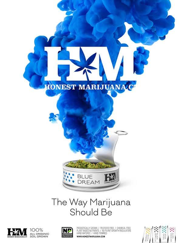 Honest Marijuana_Blue Dream_Ad
