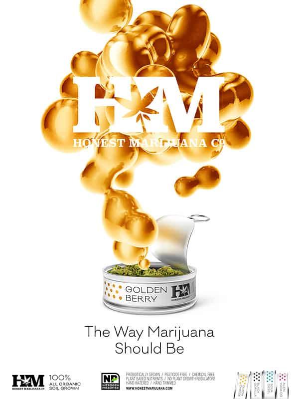 Honest Marijuana_Golden Berry_Ad