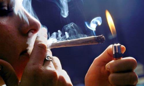first time smoking marijuana