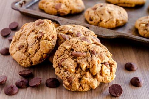 Marijuana edibles in the form of cookies