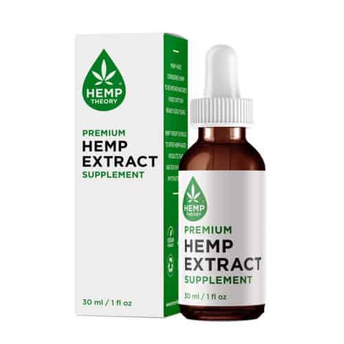 Hemp Theory Hemp Extract Oil Closed