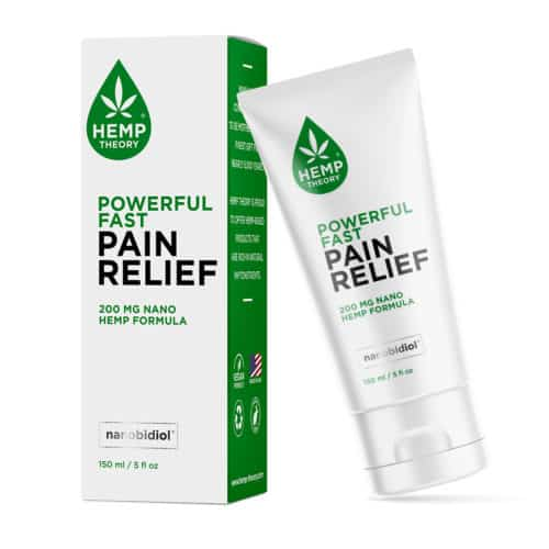 Hemp Theory Powerful Fast Pain Relief